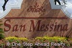San Messina community sign